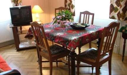 Chambres d'hôtes de Mme Delacote à Munster, Alsace - Salon commun aux 2 chambres