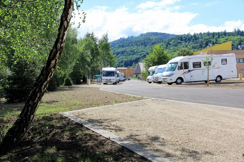 Aire de camping cars munster alsace for Piscine munster tarif