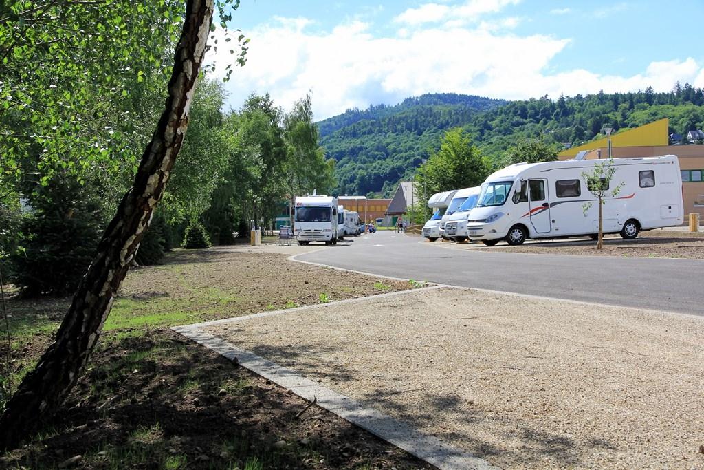 Aire de camping cars munster alsace for Camping boulogne sur mer avec piscine