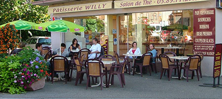 Tearooms & Snack bars in Alsace - Munster Valley